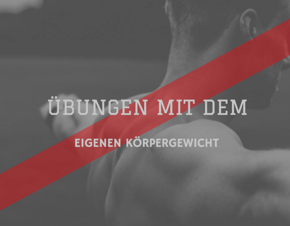 Fitness Agony Übungen mit dem eigenen Körpergewicht