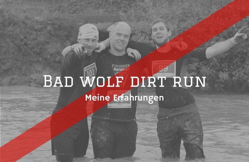 Fitness Agony - Bad Wolf Dirt Run Erfahrung Titelbild