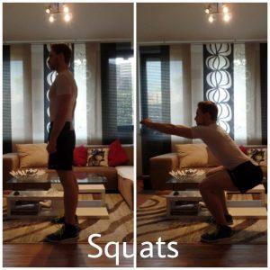 Fitness Agony Übungen mit dem eigenen Körpergewicht Beine