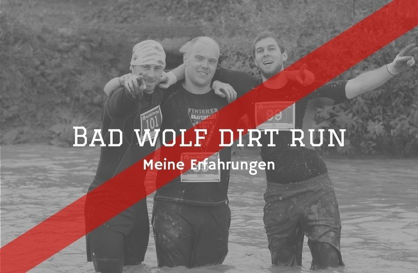 Fitness Agony - Bad Wolf Dirt Run Erfahrung Titelbild