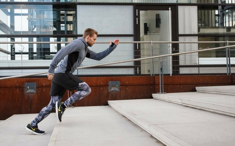 Plyometrisches Training - Treppen Sprint