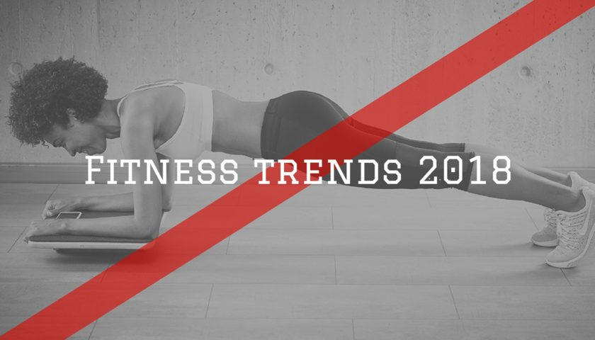Titelbild Fitness Trends 2018
