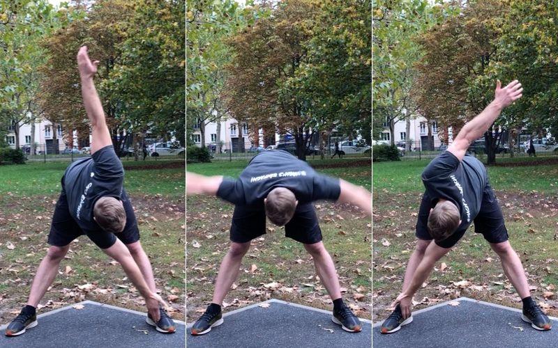 Beweglichkeit trainieren verbessern Definition Übungen - Wind Milld
