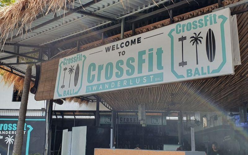 Crossfit Wanderlust Bali Erfahrung - Eingang