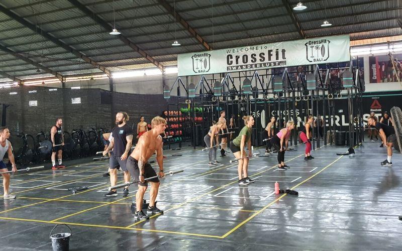 Crossfit Wanderlust Bali Erfahrung - Halle1