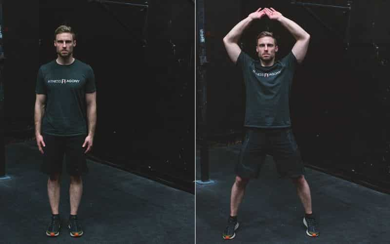 Tabata Training - Jumping Jacks
