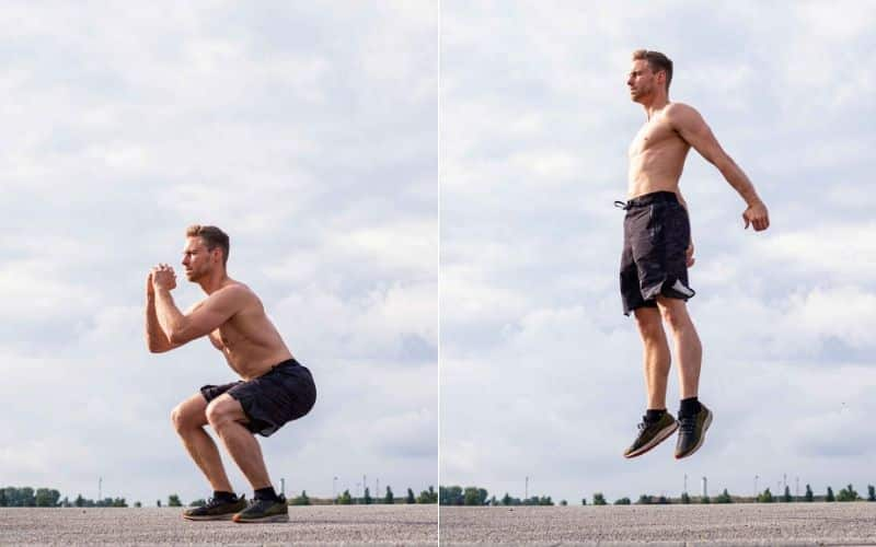 Tabata Training - Squat Jump