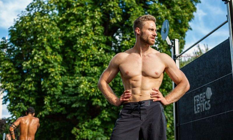 Bodyweight Training Outdoor