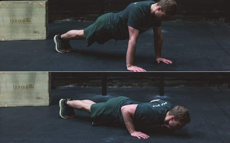 Bodyweight Übung Pushups