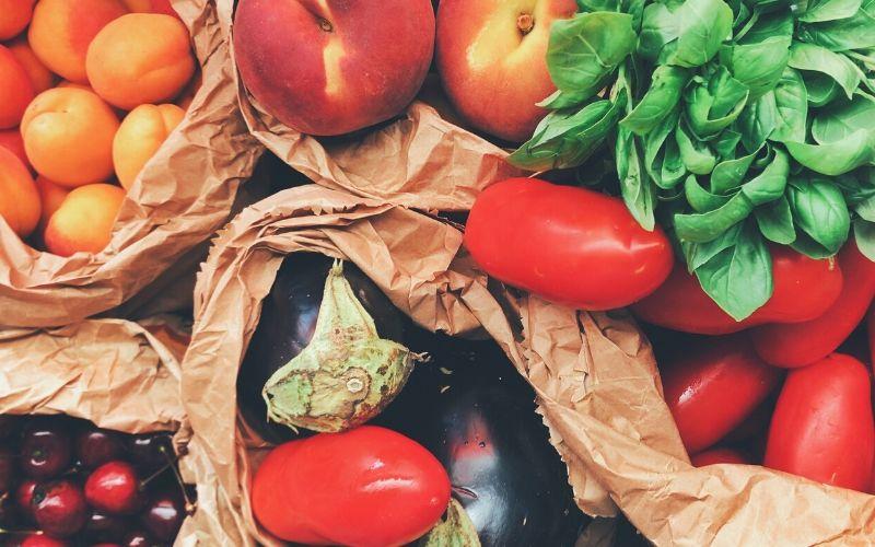 Ausgewogene Ernährung - Obst und Gemüse